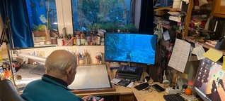"""Internethit: Das ist der 88-Jährige, der einen Aushang machte, um bei """"Skyrim"""" weiterzukommen"""