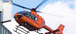 Notfallmediziner fordern mehr Rettungshubschrauber im Nachteinsatz