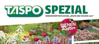 """TASPO Spezial """"Bienenfreundliche Pflanzen"""" 2021"""