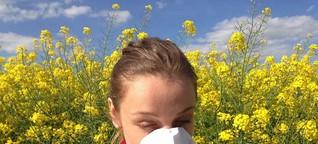 Pollensaison ist Allergie und Heuschnupfen Saison: Hilfe aus Apotheke, Hausapotheke und Natur