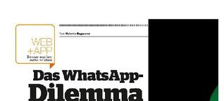 Das WhatsApp-Dilemma