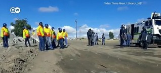 Violence against protesters - Activism in South Africa