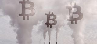 Mehr als ganz Italien: Stromverbrauch macht Bitcoin zum Klimakiller (MDR WISSEN)