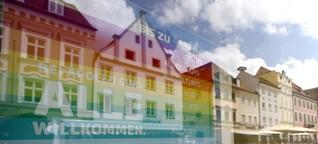 Regenbogen: Signal der Menschlichkeit