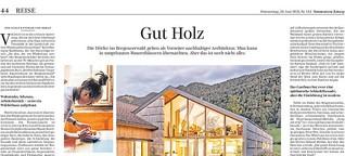 Holzüberkopf:  Architektur im Bregenzerwald