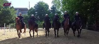 KURT - Das Magazin: Training der Polizei-Reiterstaffel