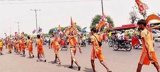 "Uttarakhand govt cancelled ""Kanwad Yatra"" 2021 due to covid"