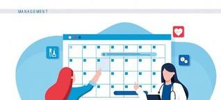 Praxisorganisation: Online-Terminvereinbarung in der Arztpraxis