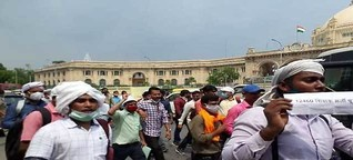 Protester candidates said, BJP is killing the rights of OBC & SC by doing reservation scam