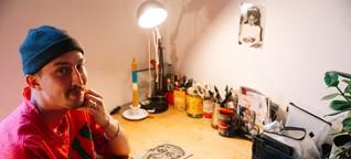 Der kochende Künstler