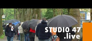 STUDIO 47 .live | ZWEITE HOTSPOT-IMPFAKTION IN DUISBURG: VIEL ZULAUF IN RHEINHAUSEN