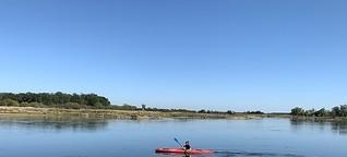 Paddeln auf der Oder: Grenzerfahrung
