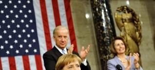 """USA und Merkel: """"Denkt erst. Spricht dann."""""""