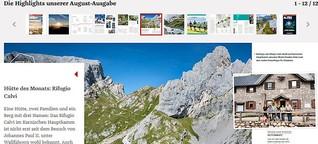 Hütte des Monats: Rifugio Calvi (Alpin, 8/21)