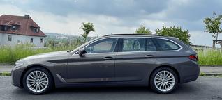 BMW 520e Touring im Test - beliebter Kombi nun auch als PHEV - electrive.net