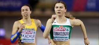 Belarusische Athletin: Der Fall Timanowskaja