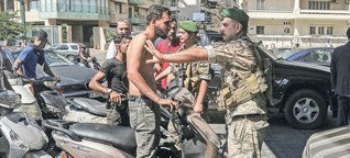 Der Libanon versinkt im Chaos
