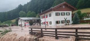 ARD-Brennpunkt: Live-Schalte zur Hochwasserlage