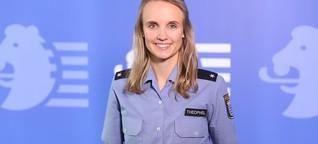 Dickes Fell und Stoßgebet – was Damaris bei ihrem Polizei-Job motiviert