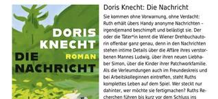 """Rezension: Doris Knecht / """"Die Nachricht"""""""