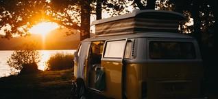 """Nachhaltigkeit von Campervans: """"Sich bewusst machen, dass Autos nicht in die Natur gehören"""""""