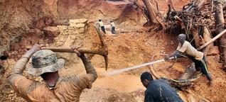 Illegale Goldminen: Weg mit dem Blutgold!