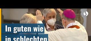 In guten wie in schlechten Zeiten - Ehejubilare aus dem Bistum Würzburg waren in den Dom eingeladen