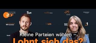 Bundestagswahl: Darum wählen junge Leute kleine Parteien