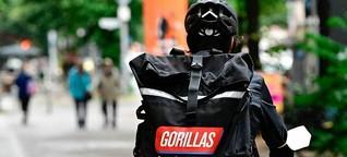 Gorillas-Rider klagen gegen befristete Arbeitsverträge