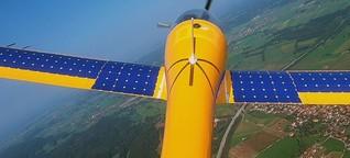 Tiere und Pflanzen besser beobachten : Mit dem Elektro-Solar-Flugzeug Naturschutzgebiete erforschen