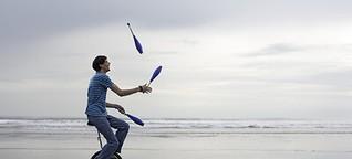 Vorsicht beim Leben jonglieren!   LinkedIn