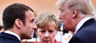 Tio viktiga händelser under Merkels regeringstid