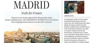 Feministischer Reiseführer Madrid
