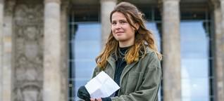 """Luisa Neubauer: """"Keine Partei ist ausreichend bereit, etwas für Klimaschutz zu tun"""""""