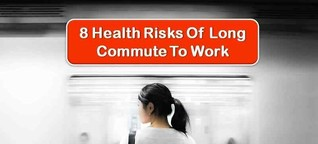 8 Health Risks Of Long Commute To Work