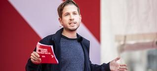 SPD-Vize Kevin Kühnert will bei Großer Koalition zurücktreten