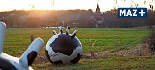 Der Internationale Kunstwanderweg im Fläming ist eine Galerie im Grünen