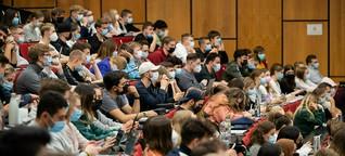 Beginn des Uni-Wintersemesters: Zurück im Hörsaal